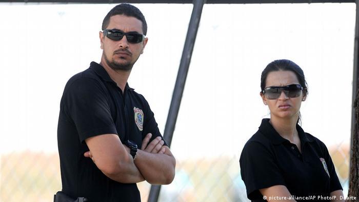 Brasilianische Bundespolizisten
