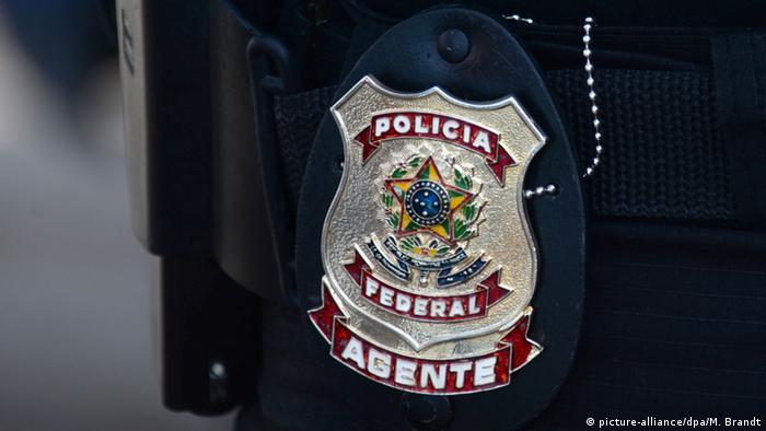 Abzeichen der rasilianischen Bundespolizei
