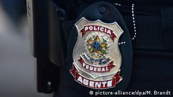 Abzeichen der brasilianischen Bundespolizei