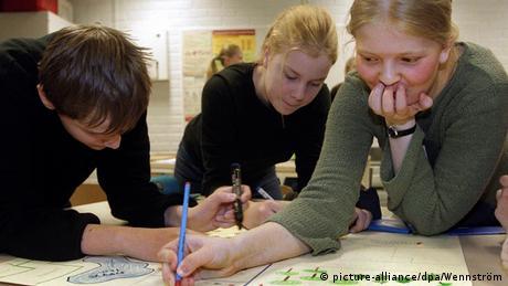 Finnland Schule Unterricht (picture-alliance/dpa/Wennström)