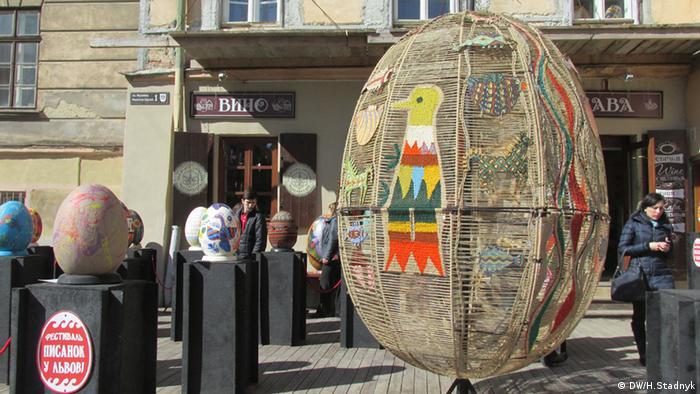 На свята у Львові заплановані десятки великодніх дійств, майстер-класи та вуличні вистави