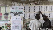 Nigeria wählt Gouverneure und Regionalparlamente