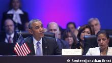 US-Präsident Barack Obama beim Amerika-Gipfel in Panama