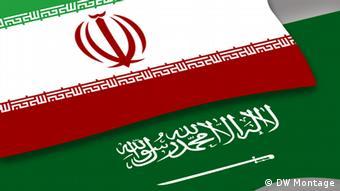 Symbolbild Iran Saudi Arabien 1024 x 576 (DW Montage)