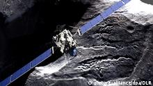 Raumfahrt ESA Weltraumsonde Rosetta