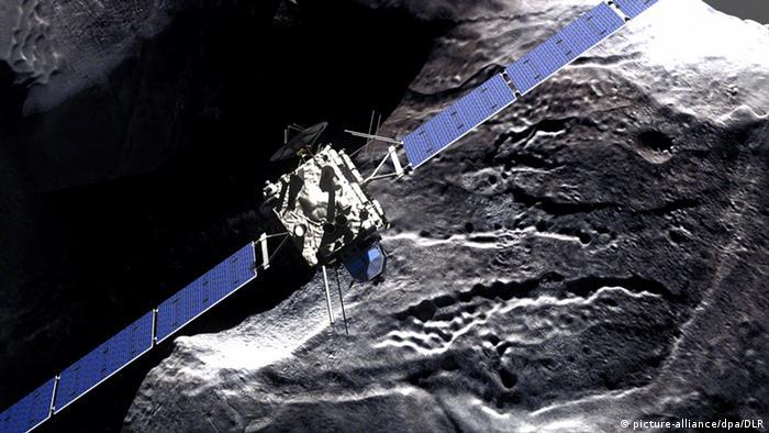 Raumfahrt ESA Weltraumsonde Rosetta (Photo: dpa).