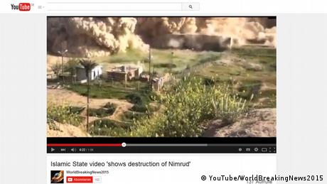 Still Islamic State video shows destruction of Nimrud