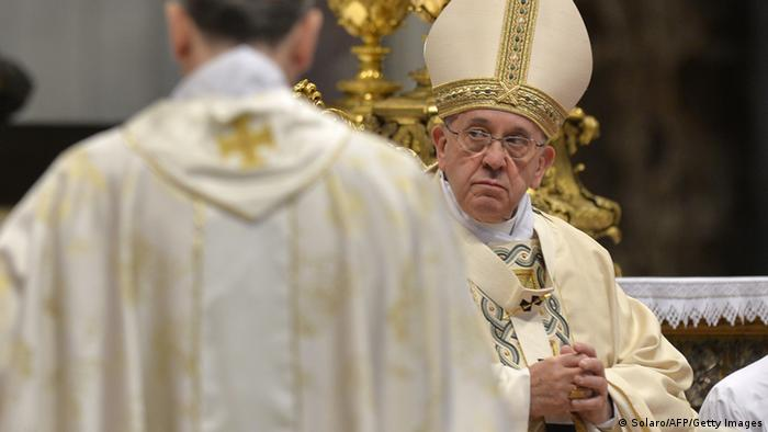 Pope holds mass for the 100th anniversary of the Armenian genocide