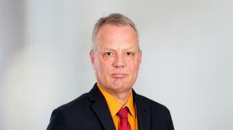 Daniel Scheschkewitz, editor de DW y fan del Eintracht Frankfurt.