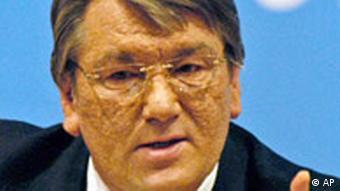 Ukraine Russland Streit um Gaslieferungen Viktor Juschtschenko