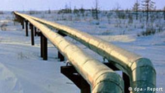 Gaspipeline in Russland