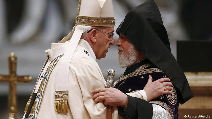 Papa Franjo i Bartolomej I. u Istanbulu 2014.