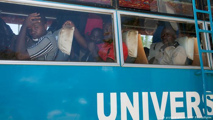 Explosion an der Universität von Nairobi