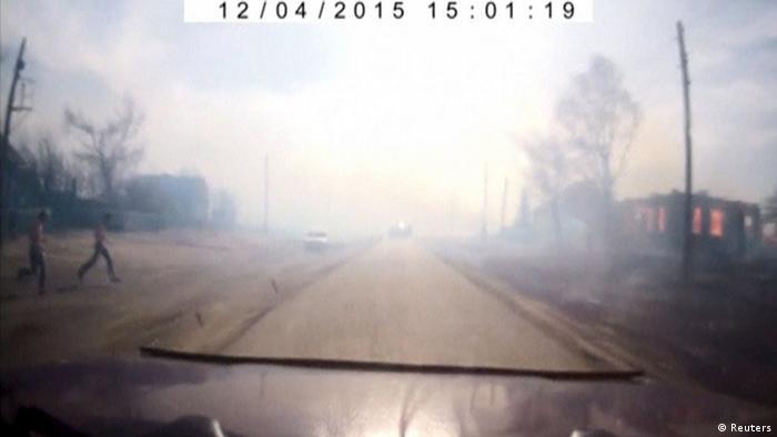 Incendios en Rusia. (Archivo).