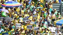 Brasilien Brasilia Proteste Anti Dilma Rousseff