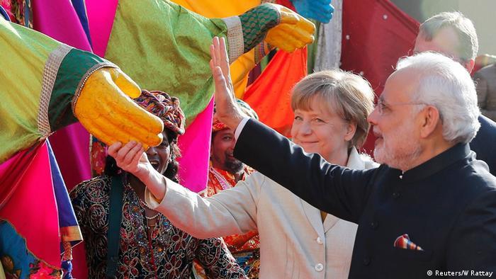 Hannover Messe Eröffnung Merkel Modi