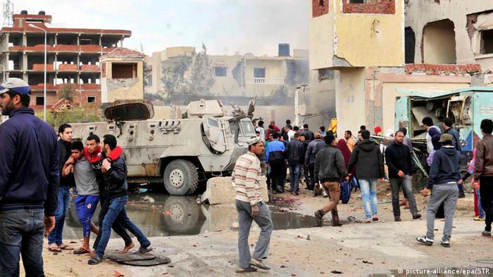Ägypten al-Arish, Sinai Bombenanschlag