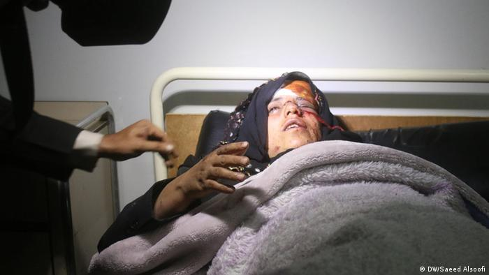 Jemen Sanaa Opfer von Bombenangriffen