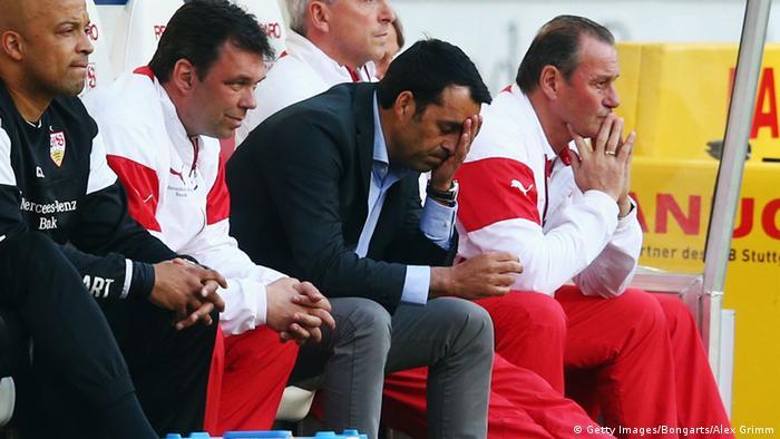 Bundesliga Stuttgart vs Bremen Robin Dutt