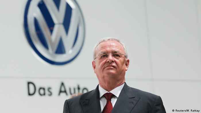 VW CEO Martin Winterkorn Photo: REUTERS/Wolfgang Rattay