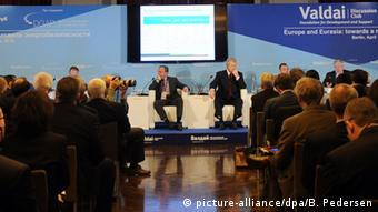 На заседании дискуссионного клуба Валдай в Берлине