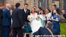 خبرسازان هفته؛ ازدواج ستاره تنیس در دامن اسکاتلندی