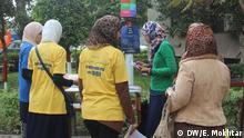 Studenten der Ehki-Kampagne an der Universität Kairo