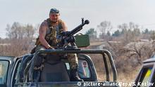Ukraine Luhansk ukrainischer Soldat