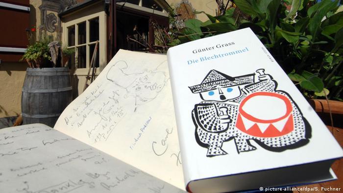 Бляшаний барабан - найбільш відомий роман Ґюнтера Ґрасса