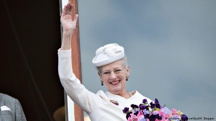 Danish Queen Margrethe II. 75th birthday. Copyright: dpa/Bildfunk