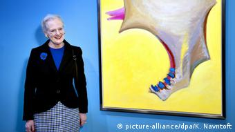 Danish Queen Margrethe II. Copyright: dpa/Bildfunk