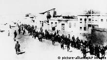 FILE - This is the scene in Turkey in 1915 when Armenians were marched long distances and said to have been massacred. The U.S. House of Representatives may vote next week on a measure that could damage U.S. relations with critical ally Turkey: a resolution declaring the World War I-era killings of Armenians a genocide. House aides, speaking on condition of anonymity because they were not authorized to comment, said Friday Dec. 17, 2010 that Democratic leaders have been discussing a possible vote with lawmakers. (AP Photo, File)