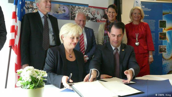 The signing ceremony between the two institutions took place Monday in Bonn, Germany