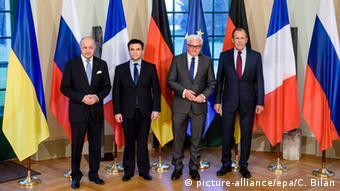 Berlin Villa Borsig Außenministertreffen zu Ukraine Minsker Abkommen