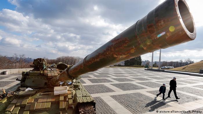 Ukraine Krise Panzer in Kiew