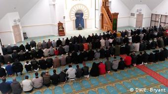 Gebet in einer Moschee in Lyon 23.03.2015 (Foto: Elizabeth Bryant)
