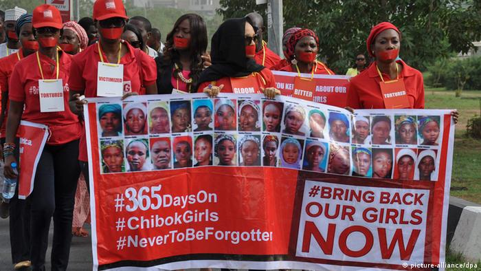 Nigeria Proteste Chibok Mädchen