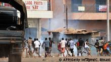 Proteste in Conakry, Guinea
