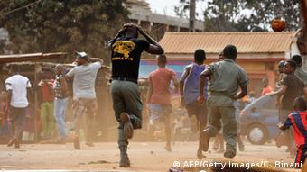 La Guinée est en proie à des manifestations de rue depuis des mois.