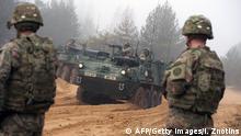 NATO Manöver im Baltikum