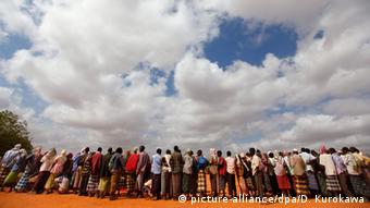 Flüchtinge in Dadaab Kenia