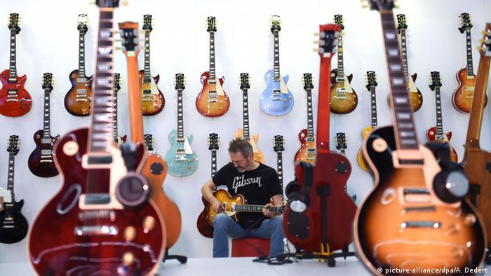 Musikmesse in Frankfurt am Main 2015 (picture-alliance/dpa/A. Dedert)