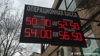 Курс рубля в Москве