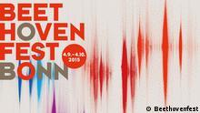 Mottomotiv des Beethovenfests 2015. Credit: Beethovenfest