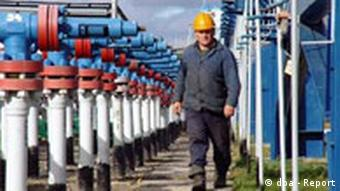 Erdgasindustrie in der Ukraine