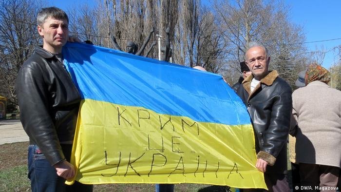 Сім відсотків кримчан вважають себе українцями. Архівне фото
