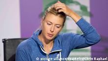 Russische Tennisspielerin Maria Scharapowa