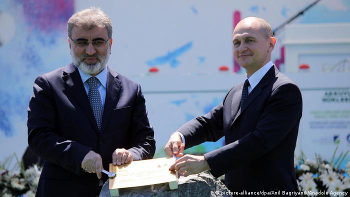 Танер Йылдыз и Сергей Кириенко