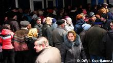 Rentner in Donezk erwarten ihre Rente