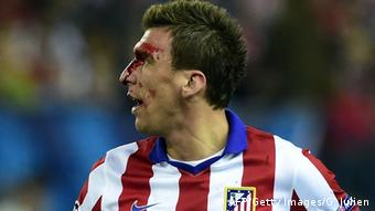 UEFA Champions League, Atletico Madrid - Real Madrid, Mario Mandzukic